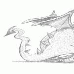Dragon triste