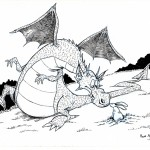 Un dragon, un lapin