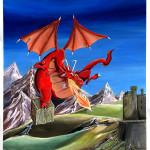 Dragon en vol.