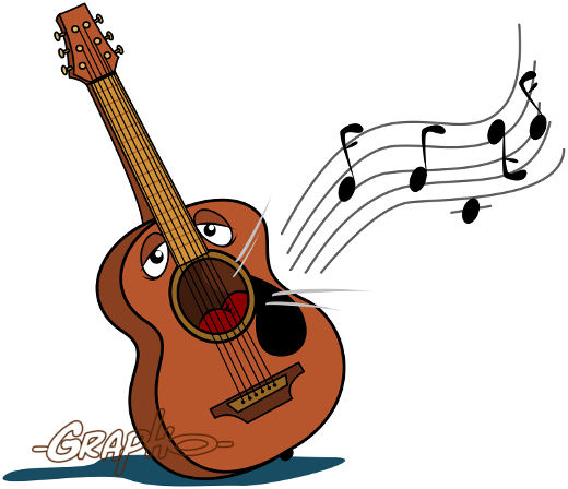 Vectoriel blog du dessinateur grapho - Comment dessiner une guitare ...