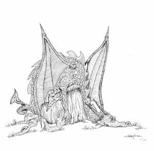 Dragon semaine 22 au trait