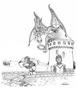 Encrage. Affiche Foire Saint Michel 2014