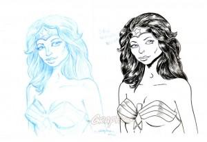 Recherche de Wonder Woman